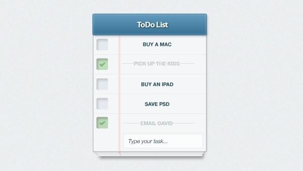 To-Do List App UI