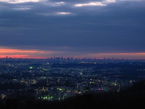 tokyo japan sky
