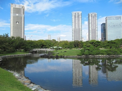 tokyo japan skyscrapers