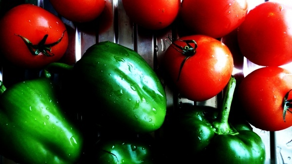 tomatoes peppers vegetables