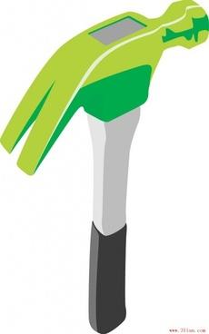 tool hammer vector