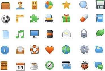 Toolbar Icon Set icons pack