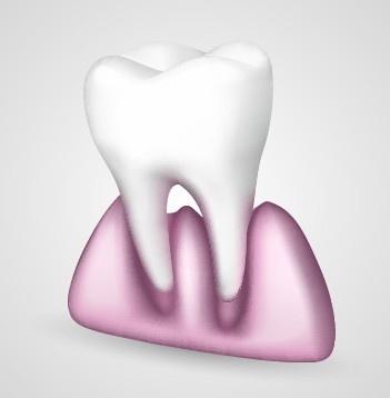 tooth creative design vector