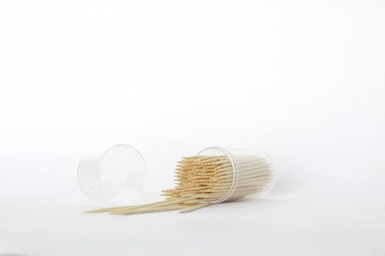 toothpicks wooden teeth