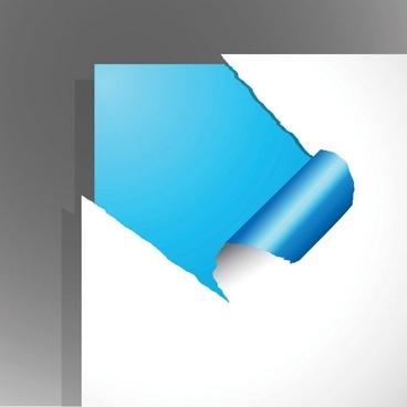 torn paper vector 4