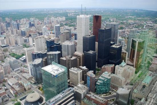 toronto downtown buildings