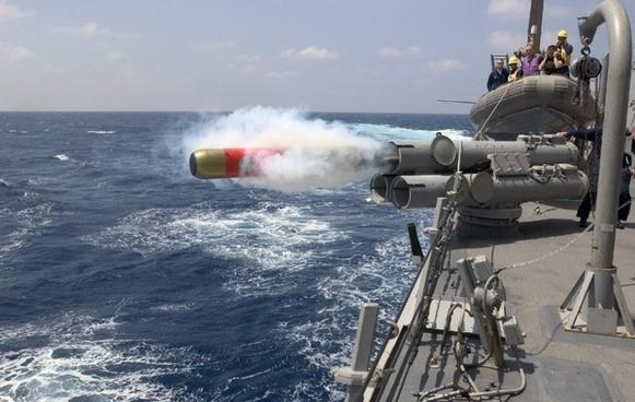 torpedo launch weapon