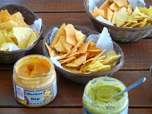 tortilla chip cornmeal salzgeb�ck