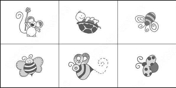 tortoise and flower brush