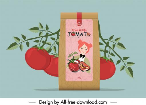 totamo packaging template elegant handdrawn decor