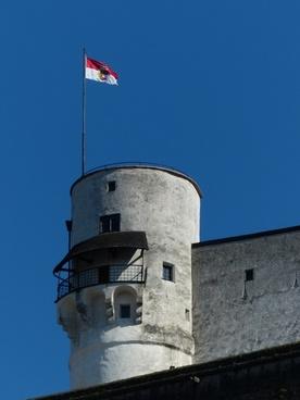 tower flag austria