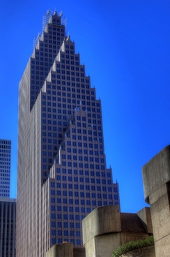 tower in downtown houston texas