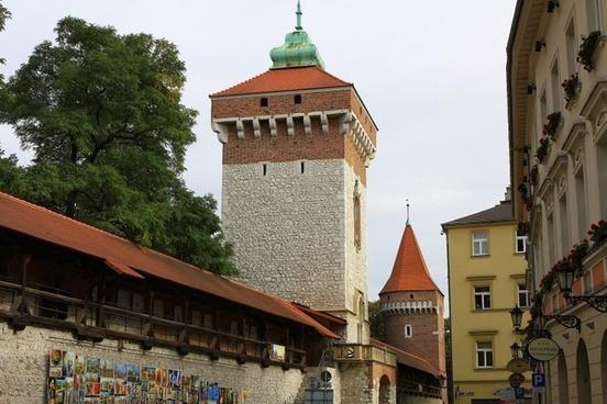 town city krakow