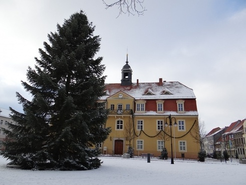 town hall building architecture