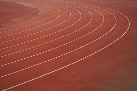 track field lanes