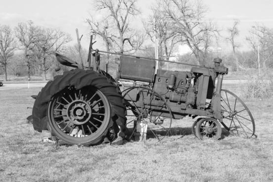 tractor antique vintage