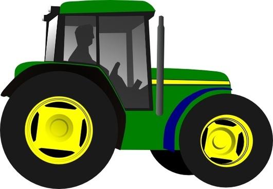 Tractor Framing Machine Equipment clip art