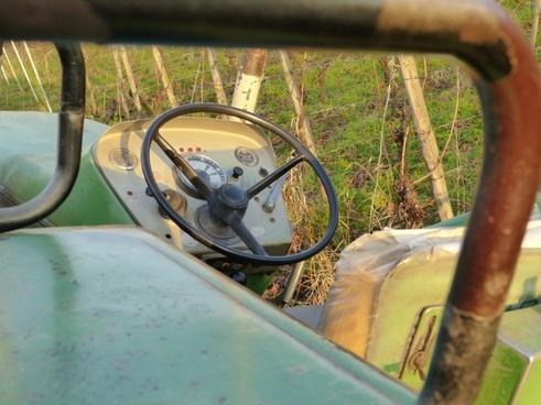 tractor tractors steering wheel