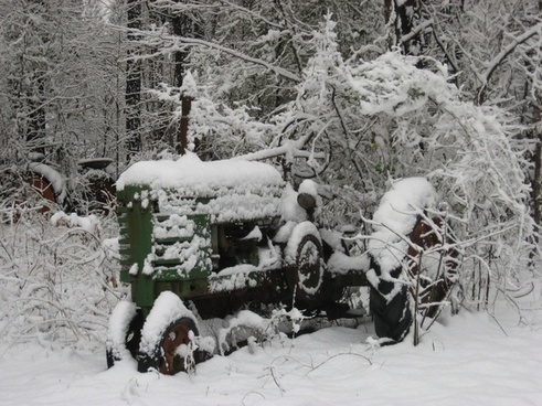 tractor vintage farm equipment