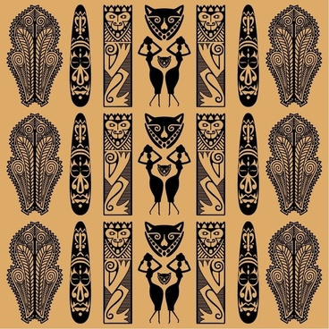 Traditional African Pattern Vector