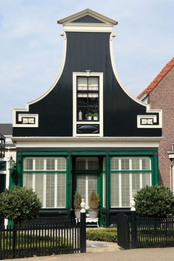 traditional dutch country house