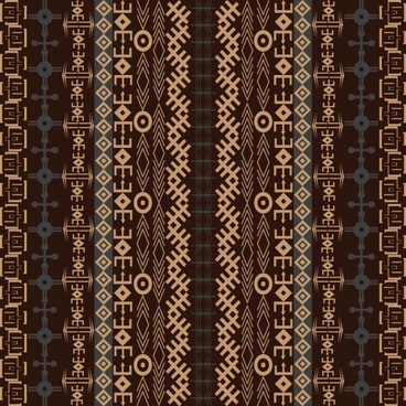 traditional pattern background vector