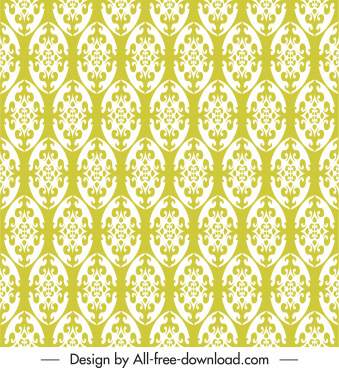 traditional pattern template classical repeating symmetric flat shapes