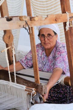 traditional weaver