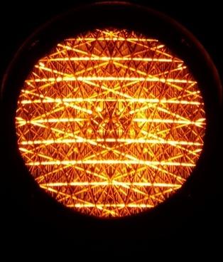 traffic lights orange light