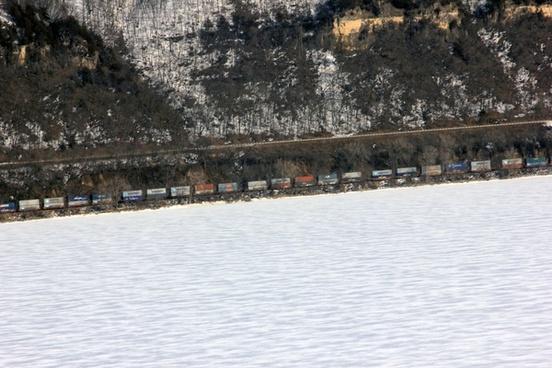 train at frontenac state park minnesota