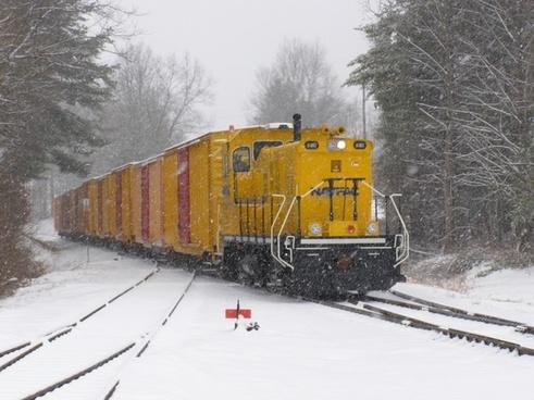 train locomotive cars