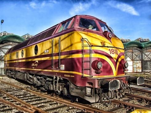 train luxembourg locomotive