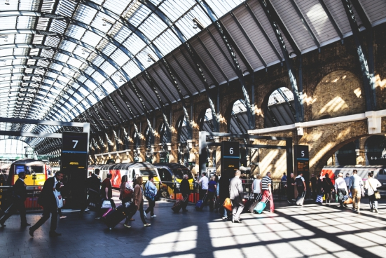 train passengers