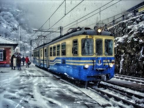 train shine bus tram