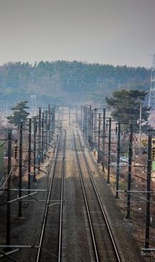 train tracks track