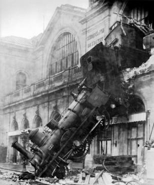 train wreck steam locomotive locomotive