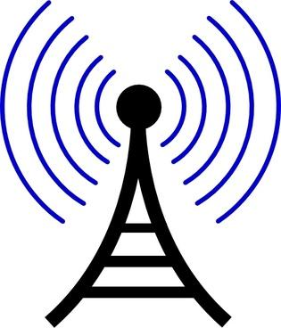 Transmission Tower Antenna clip art