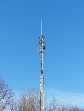 transmission tower mast radio antenna