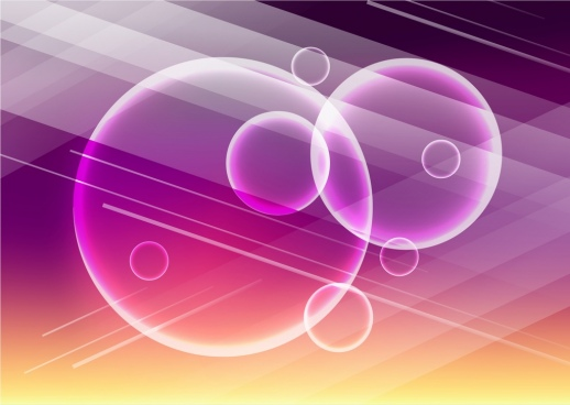 transparent baubles background design