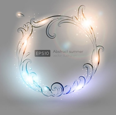 transparent water splash vector