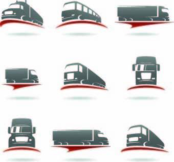 transport logo illustration vector