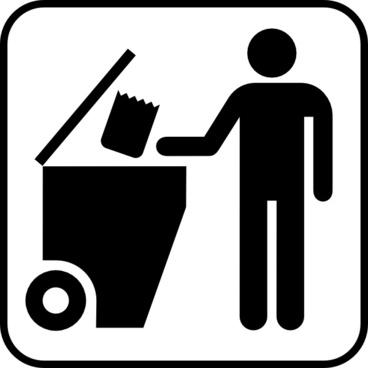 Trash Disposal clip art