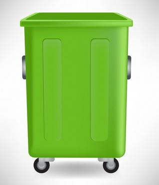 environmental protection background dustbin sketch modern 3d