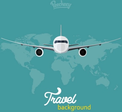 travel the world background