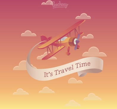 travel time poster
