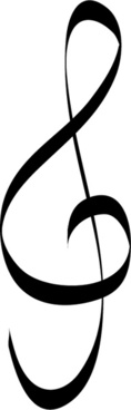 treble clef music note