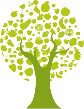 Tree Fruit Icons