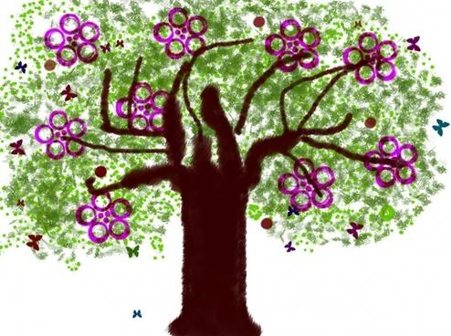 tree spring flowers