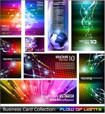 trend card design 05 vector