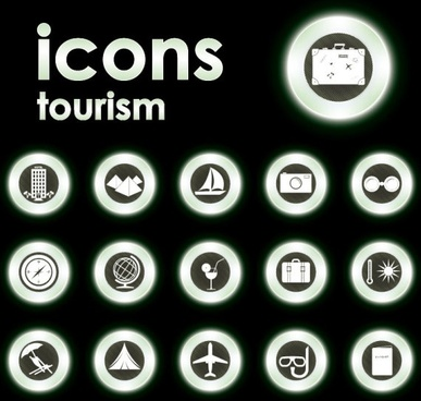 trend circular icon 04 vector